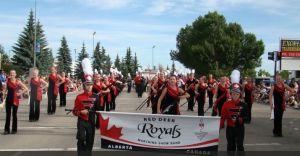 I Red Deer dall'Alberta, Canada. Ospiti della FPC 2014